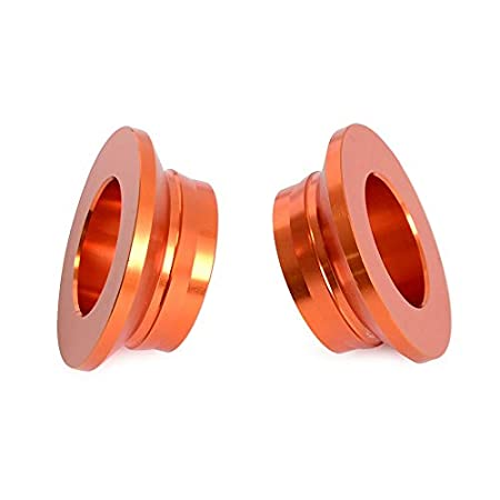 XFC-MTC Ruota Posteriore Mozzo distanziatori for KTM 150 200 250 125 300 350 400 450 SX SXF Edition SXF Fabbrica XC XCF for Husqvarna TC FC TX FX FS Colore : Orange