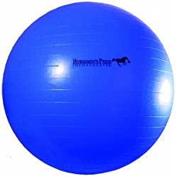 Horsemen's Pride 30-Inch Mega Ball for Horses, Blue