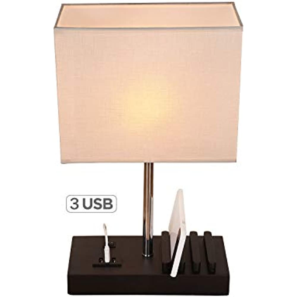 Usb Table Lamps Lamp Multi Functional Desk With 3
