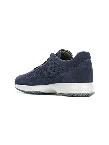Hogan Sneakers Uomo HXM00N0W530HG0U802 Camoscio Blu