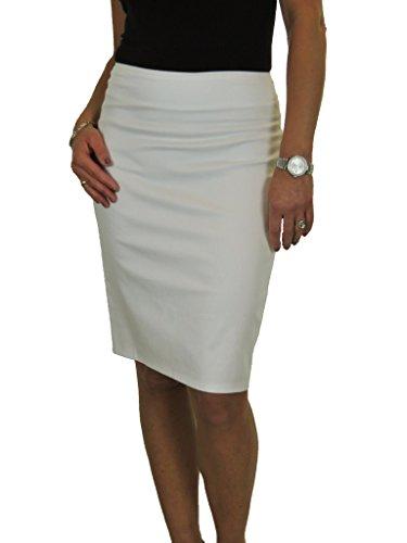 lgante Jupe 56cm Blanc de 2541 avec Ice Crayon clat XF744q