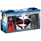 New Man of Steel Collectible Figurine Limited Edition Gift Set (Blu-ray + DVD + Ultra Violet Combo) (2013)