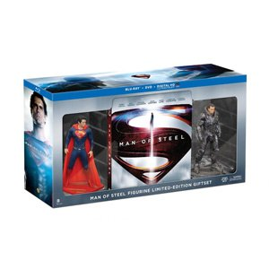 New Man of Steel Collectible Figurine Limited Edition Gift Set (Blu-ray + DVD + Ultra Violet Combo) (Buy Man Of Steel)