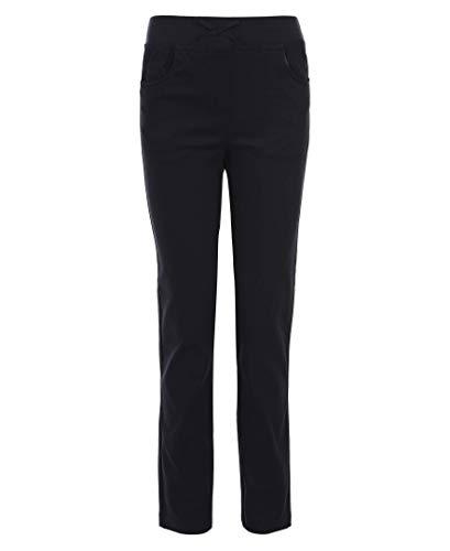 (Nautica Girls Plus Size' School Uniform Skinny Stretch Twill Pant, Navy Blue, 18.5 Plus )