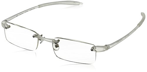 Visualites 201 Reading Glasses,Crystal Frame/Clear Lens,2.50 Strength,48 - Reading Clear Glasses
