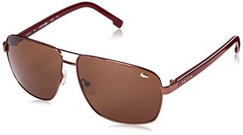 Lacoste Men's L162s L162S-210 Aviator Sunglasses, BROWN, 61 - 2017 Sunglasses Trends Top