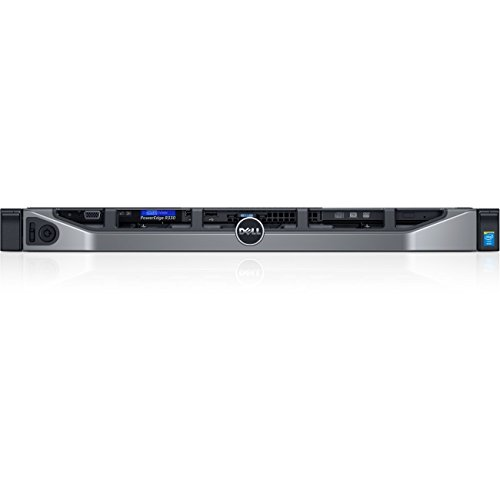 Dell PowerEdge R330 1U Rack Server - 1 x Intel Xeon E3-1240 v5 Quad-core (4 Core) 3.50 GHz - 8 GB Installed DDR4 SDRAM -