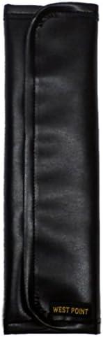 ウエストポイント ショルダーパッド シンセティックレザーシリーズ ブラック MIL-805