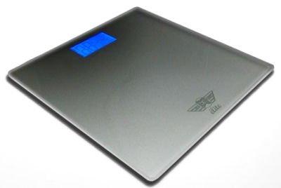 Silver Elite Digital Designer Bathroom Scales