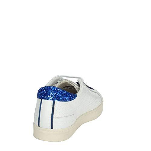D grey Shoe Blanco Sneaker t Hill a Woman White E9440 Low e Scarpe blue Donna w1Xx67aqI
