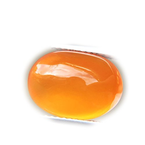 Lovemom 5.80ct Natural Cabochon Unheated Orange Chalcedony Africa #PU by Lovemom