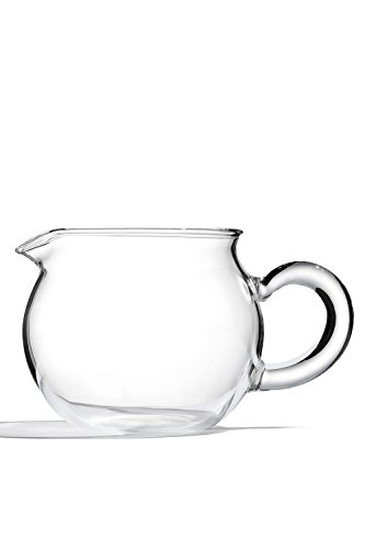 Glass Tea Serving Pitcher Spout Carafe Cocktail Jug Modern Teaware Kitchenware