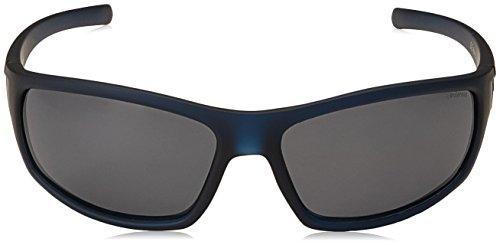 rectangulares sol Gafas hombre Polaroid Azul de para x4pn40fO