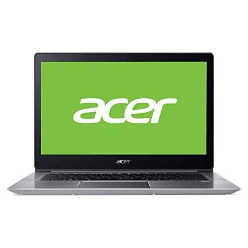 chollos oferta descuentos barato Acer Swift SF314 52 787X Ordenador Portátil de 14 FullHD Intel Core i7 7500U 8GB RAM 256GB SDD Intel HD Graphics Windows 10 Plateado Teclado QWERTY Español