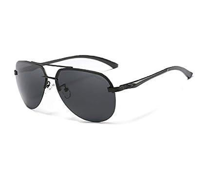 64be90fa22 ShadeZaura Polarized Aviator Metal Parallel Bridge Men s and Women s  Sunglasses (HDPP02025501