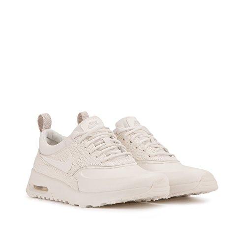 Nike - Zapatillas de cuero para mujer blanco Weiß Weiß