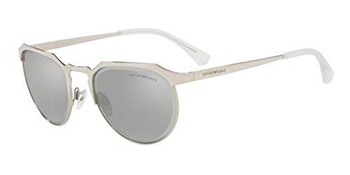 Emporio Armani 0EA2067 Gafas de sol, Silver, 54 Unisex ...