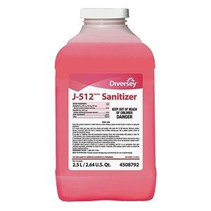 Diversey Sanitizer J-512 5756034 2 x 2.5 liter - 512 Sanitizer