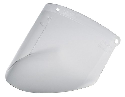 3M Clear Polycarbonate Faceshield WP96, Face Protection 82701-00000, Molded