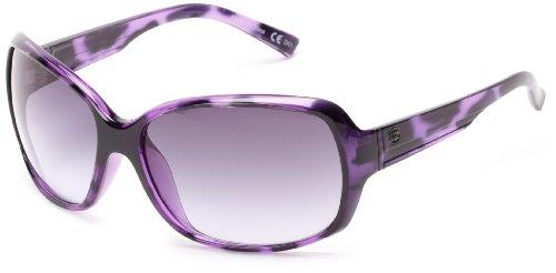 VonZipper Ling Ling Oval Sunglasses,Violet & Tortoise,One - Von Sunglasses Zipper Girls