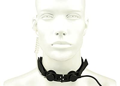 Gas Mask Model: LOOGU Tactical Throat MIC Waterproof Earphone & Mic from LOOGU :: Gas Mask Bag :: Army Gas Masks :: Best Gas Mask