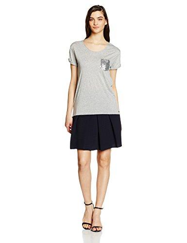 Boss Orange Tamiasa, Camiseta para Mujer Gris (medium Grey 032)