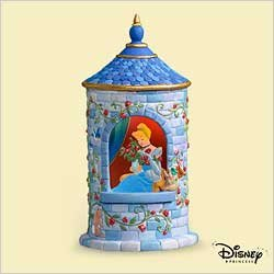 DISNEY - THE PRINCESS TOWER 2006 Hallmark Ornament ()