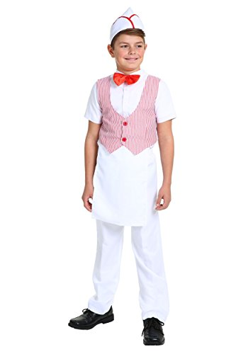 Boy's 50s Car Hop Costume Small
