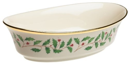 Lenox Holiday Open Vegetable Bowl - Holiday Bowl Vegetable