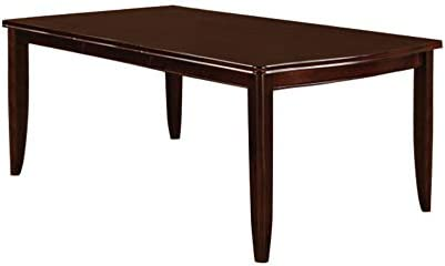 William s Home Furnishing CM3336T Edgewood I Dining Table, Espresso