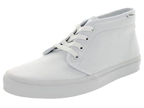 Vans Unisex Chukka Boot True White Skate Shoe 8.5 Men US / 1