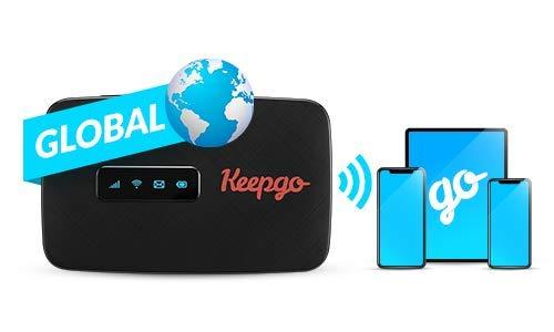Keepgo Global Lifetime 4G/LTE Mobile WiFi Hotspot for Europe