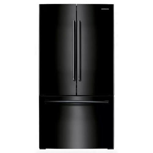 Samsung RF18HFENBBC 17.5 Cu. Ft. Black Counter Depth French Door Refrigerator Counter Depth French Door Refrigerator