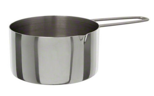American Metalcraft (MCW10) 1 Cup Stainless Steel Measuring Cup (Stainless Cup Cup Measuring 1 Steel)