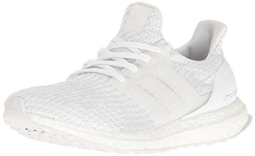 adidas Women's Ultraboost w Running Shoe, White/White/Crystal White, 9.5 M US