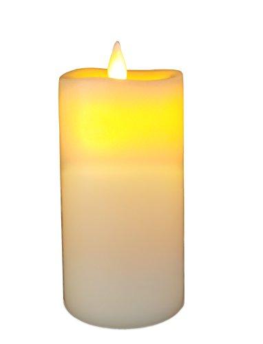 Flameless Candle,QBA LED Pillar Candle (D 3