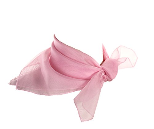 [Sheer Light Pink Scarf] (Pretty In Pink Costumes)