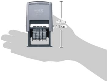 XST40340 Xstamper Self-Inking Micro Message Dater