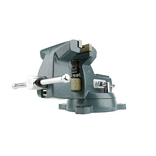 Wilton 21800 748A 8-Inch Jaw Width by 8-1/4-Inch Opening Mechanics Vise -