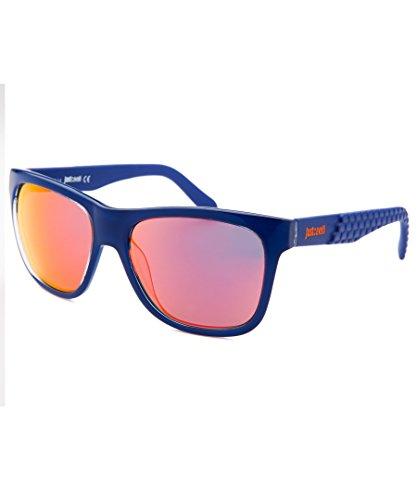 JUST CAVALLI Sunglasses JC648S 92L Blue/Other / Roviex Mirror 54MM