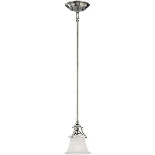 Thomas Lighting SL825641 Pendant Lighting, Satin - Pendant Pewter Harmony