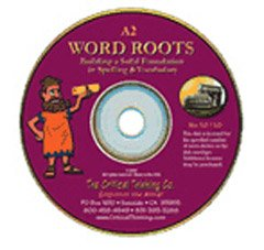 CRITICAL THINKING PRESS WORD ROOTS SOFTWARE LEVEL A2