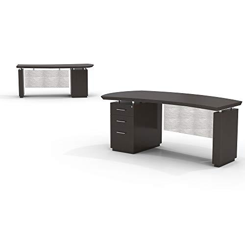 Mayline STLD72BTDC Sterling Desk, 72