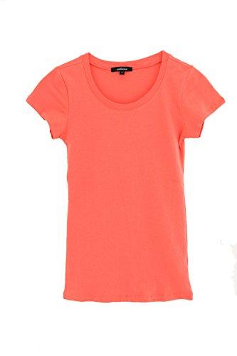 Ambiance Classic Crew Neck Short Sleeve Tee (Orange (Orange Upgrade T-shirt)