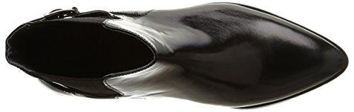 Mujer Dahir Noir Jonak 264 Noir Negro Polido Botas AOfStHw6fq