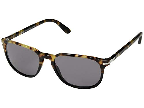 Persol Men's 0PO3019S Tortoise Brown Black/Grey One Size