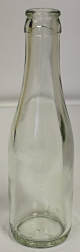 (187 ml Clear Champagne Bottles, 24 per case)