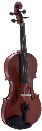 D'Luca DL-45044 Meister Ebony Fitted Beginner Violin Outfit 4/4