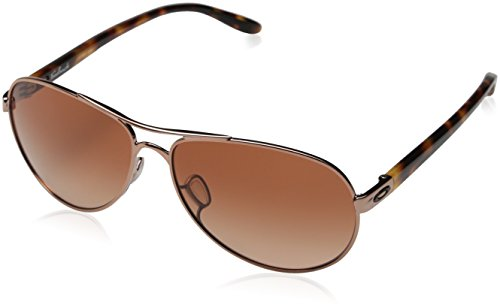 Add Crane (Oakley Women's Feedback Aviator, Rose Gold, 59 mm)