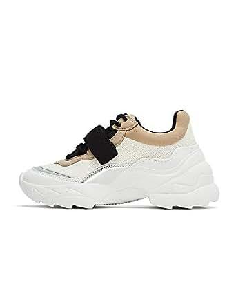 Zara Women Hook and Loop Strap Sneakers 3416/001 (35 EU   5 US   2 UK)